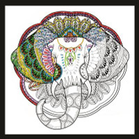 Zenbroidery - Elephant Embroidery Kit By Design Works