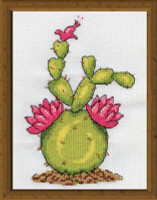 Cactus Cross Stitch Kit By Design Works