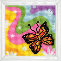Butterfly Tapestry Kit By Design Works