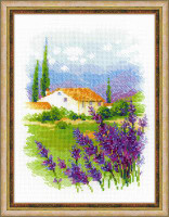 Farm in Provence Cross Stitch Kit By Riolis