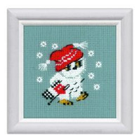 Snow Cross Stitch Kit By Riolis