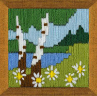 Forest Lake Long Stitch Kit By Riolis