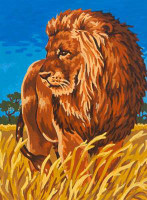 Savannah King Tapestry Canvas By Grafitec
