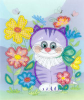 Kitten Embroidery Kit By Riolis