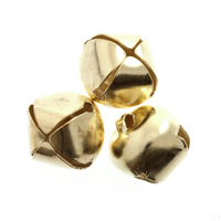 Bells: Jingle: 6mm: Gold: 10 Pack by Trimmits