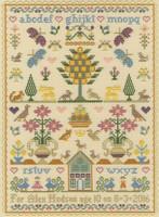 The Birthday Sampler  Cross Stitch Kit By Bothy Threads
