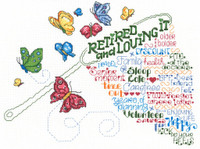 Let's Retire Cross Stitch Chart By Ursula Michael