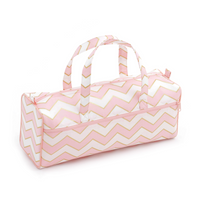 Pearlised Blush  Knit Bag By Hobby Gift