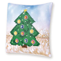 Christmas Tree Pillow Craft Kit By Diamond Dotz
