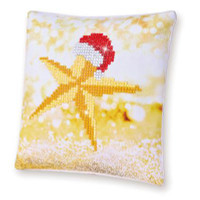 Christmas Star Pillow Craft Kit By Diamond Dotz