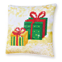 Christmas Gifts Pillow Craft Kit By Diamond Dotz