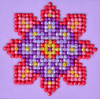 Flower Mandala 2 Craft Kit By Diamond Dotz