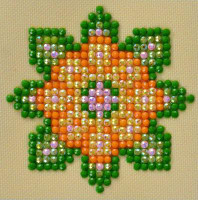 Flower Mandala 1 Craft Kit By Diamond Dotz