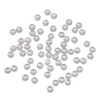 Gems: Round: Silver: Pack of 350 By Trimits