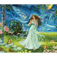 Spring Fairy Cross Stitch Kit by Dimensions