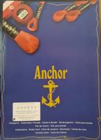 Printed Anchor Shade Card