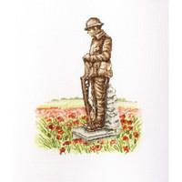 In Flanders Fields Cross Stitch Kit by Betty Davis