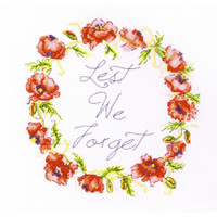 Lest we Forget Cross Stitch Kit by Betty Davies