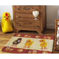 Latch Hook Rug Kit - Chicks