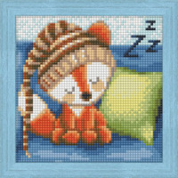 DIAMOND PAINTING KIT DREAMING FOX