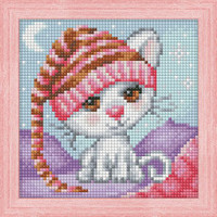 DIAMOND PAINTING DREAMING CAT KIT
