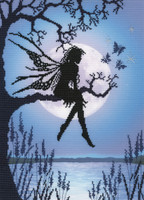 Luna Fairy Cross Stitch Kit By Bothy Threads