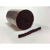 Pre cut rug Wool - Burgundy