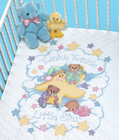 Stamped Cross Stitch: Quilt: Twinkle Twinkle By Dimensions