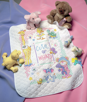 Stamped Cross Stitch: Quilt: Cute Or What? By Dimensions