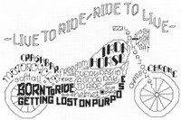 Let's Ride Chart By Ursula Michael