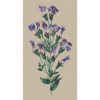 Gentiana Crinita Cross Stitch Kit by Clarissa Badger