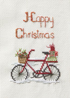 Christmas Card – Christmas Delivery Cross Stitch Card