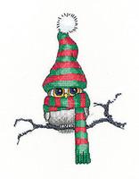 Ollie Owl Cross Stitch Kit By Heritage