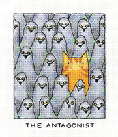 The Antagonist Cross Stitch By Heritage Crafts