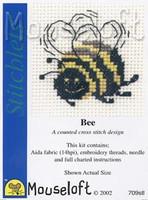 Bee Cross Stitch Kit by Mouse Loft