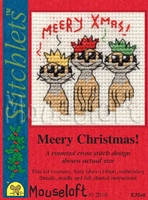 Meery Christmas! Cross Stitch Kit by Mouse Loft
