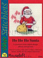 Ho Ho Ho Santa Cross Stitch Kit by Mouse Loft