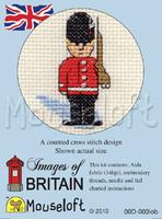 Guardsman Cross Stitch Kit by Mouse Loft