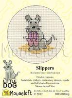 Slippers Cross Stitch Kit by Mouse Loft