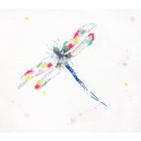 Dragonfly Dreams Cross Stitch Kit by Charlotte Rennie