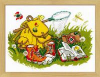 Camping Cross Stitch Kit By Riolis