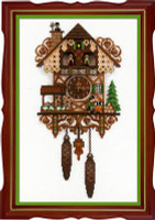Cuckoo Clock Cross Stitch Kit By Riolis