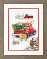 Counted Cross Stitch Kit: Winter Ride By Dimensions