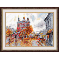 Moscow Cross Stitch Kit by Oven