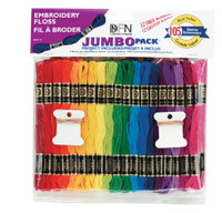 Jumbo Pack of Embroidery Floss Skeins