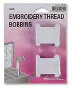 50 Floss Bobbins - Card
