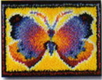 Butterfly Fantasy Latch Hook Kit