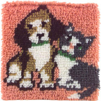 Best Friends Latch Hook Rug Kit