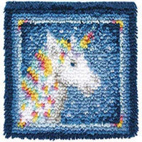 Unicorn Latch Hook Kit by Caron