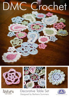 Decorative Table Set Crochet Pattern Booklet